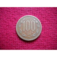 Чили 100 песо 1989 г.