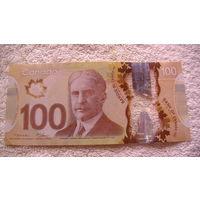 Канада 100$ 2011-2013гг. пластик. (для коллекции) распродажа