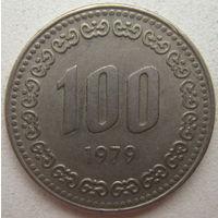 Южная Корея 100 вон 1979 г.