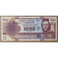1000 гуарани 2005 года - Парагвай - UNC