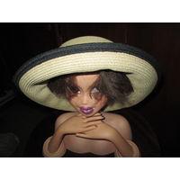 Шляпа фирменная,соломенная женская millinery magic el granada ca США.
