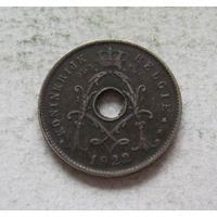 Бельгия 5 сантимов 1922 KONINGRIJK BELGIЕ