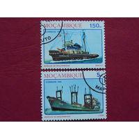 Мозамбик 1981г. Флот.