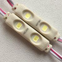БЕЛЫЕ ((цена за 4 шт)) светодиодные модули 0,33 Вт. 2 светодиода. 12 Вольт