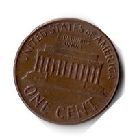 США. 1 цент. 1964 D