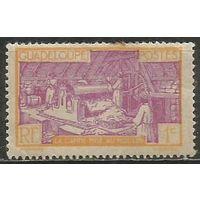 Гваделупа. Производство сахара. 1928г. Mi#96.