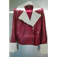 Куртка 44 р-ра из экокожи