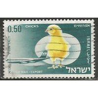 Израиль. Авиапочта. Экспортные товары. 1968г. Mi#409.