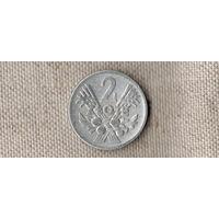 Польша 2 злотых 1958 //(Oct)