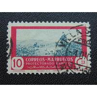 Марокко. Протекторат Испании.