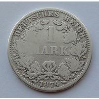 Германия - Германская империя 1 марка. 1874. A