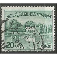 Пакистан. Сады в Лахоре. Плотина. 1970г. Mi#А183.