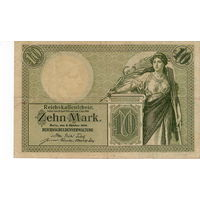 Германия, 10 марок, 1906 г.