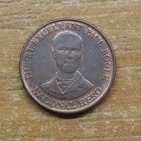 Ямайка 10 центов 1995  _РАСПРОДАЖА КОЛЛЕКЦИИ