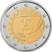 2 евро Словакия 2019   100 лет со дня смерти Милана Ростислава Штефаника. Из ролла