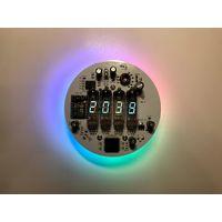 Плата для часов на лампах ИB-6 с WiFi ESP8266 (пойдут ИВ-2, ИВ-3, ИВ-3А, ИВ-8)