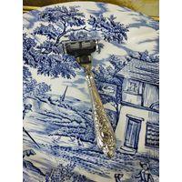 Отличный подарок Мужчине Бритва из серебра 925 Gillette АРТ 03-101