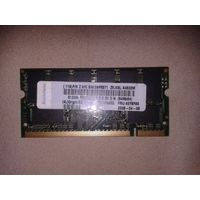 Оперативная память для ноутбука DDR2 512 MB, 2 планки