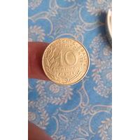 364# 10 сантимов 1973. франция