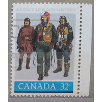 Авиация Летчики 60-летие королевских канадских ВВС Канада 1984 год  лот 6