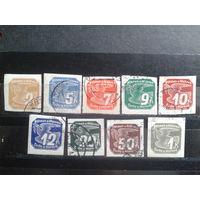 Богемия и Моравия 1939 Газетные марки полная серия Михель-4,0 евро гаш