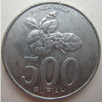 Индонезия 500 рупий 2003 г. (g)
