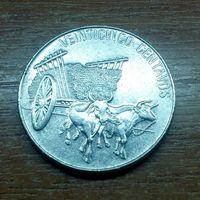 Доминиканская Республика 25 сентаво 1989 (3)