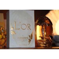 """Теперь уже очень редкая и незабвенная парфюмерия: """"L`Or de Torrente"""" 50 ml, """"L`Or Blanc de Torrente"""" 30 ml и """"L`Or de Torrente Rouge"""" 50 ml w EDP, - если брать вместе, то с небольшой скидкой получаетс"""