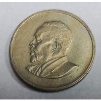25 центов 1966 Кения. Редкий номинал.