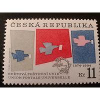 Чехия 1994 120 лет ВПС