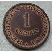 Ангола португальская  1 эскудо 1972, состояние!