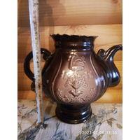 Большой керамический чайник СССР