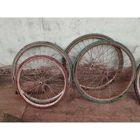 Колеса к велосипедам ссср разные.Цена за 4 колеса
