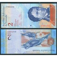Венесуэла 2 боливара фуэрте 2012 UNC