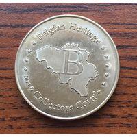 Жетон монета Бельгия Брюгге Belfort