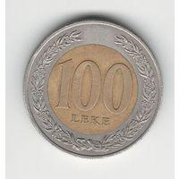 Албания 100 лек 2000 года. Состояние XF!