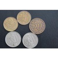 Лот монет Чехословакии