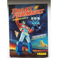 "Альбом наклеек ""Transformers"" Panini 96 год"