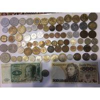 Монеты различных стран мира