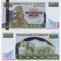 Зимбабве 1000 долларов образца 2003 года UNC p12
