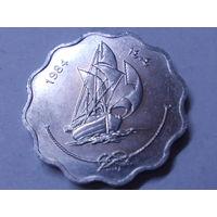 Мальдивы 5 лаари  1984 г.Корабль.Аукцион с 1.00 руб.