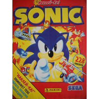 Альбом журнал для наклеек Sonic. Panini.