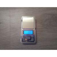 Весы для монет цифровые дискретность 0,01г, до 300 гр БЕЗ крышки нумизматические ювелирные карманные