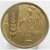 Литва 20 центов 1925 (2-228)