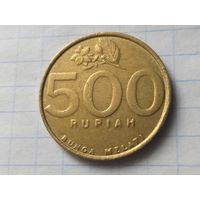 Индонезия 500 рупий, 2002