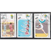 Почтовые марки 1991 The 11th Pan-American Games, Havana - Куба