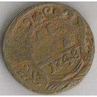 Денга 1748 года