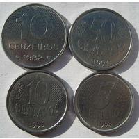 Набор монет Бразилии. No2.