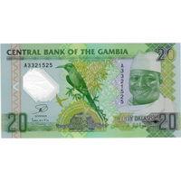 Гамбия, 20 даласи, полимер, UNC