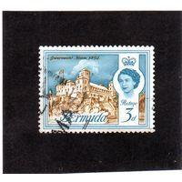 Бермуда. Ми-164. Дворец правительства. Королева Елизавета II. 1962.